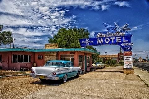 motel y hotel